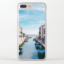Burano, Venice, Italy Clear iPhone Case