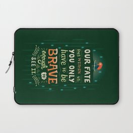 Would you change your fate? Laptop Sleeve