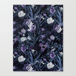 EXOTIC GARDEN - NIGHT XII Canvas Print