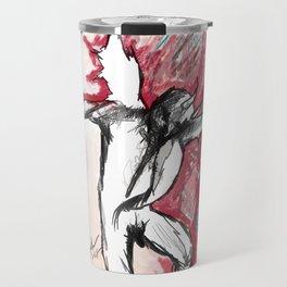 A Demon Dances Travel Mug