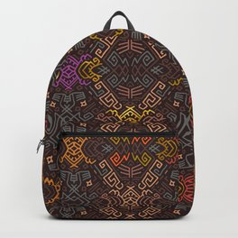 Autumn Tribal Pattern #3 Backpack