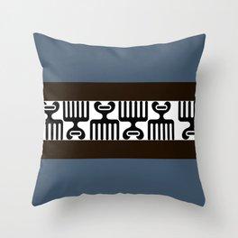 African Afro Combs Throw Pillow