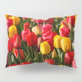 Peace, Love And Tulips Pillow Sham