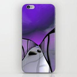 go violet -11- iPhone Skin
