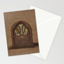 Old Radio Stationery Cards