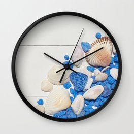 Summer mood Wall Clock