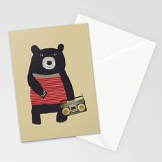 Boomer bear Stationery Cards