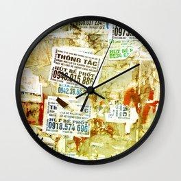 Viet flyers Wall Clock