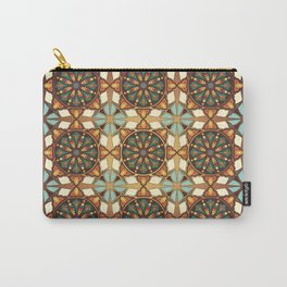 Abstract geometric retro seamless pattern Carry-All Pouch