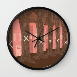 the ash borer Wall Clock