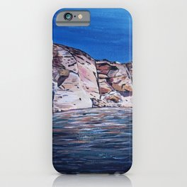 Red Rocks at Lake Powell iPhone Case