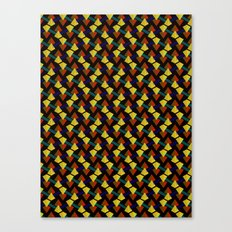 Pyramid lines Canvas Print