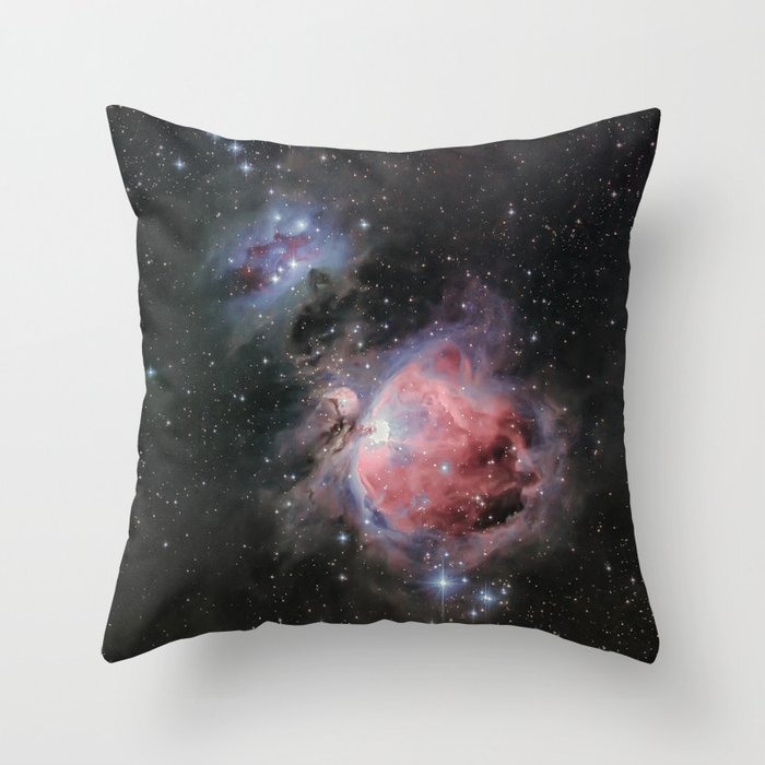 Orion Nebula #2 Throw Pillow