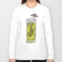 cuba Long Sleeve T-shirts featuring Bajoca Box - Cuba Libre by Bajoca Box