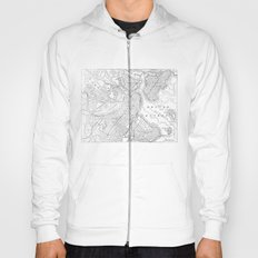 Vintage Map of Boston (1878) Hoody