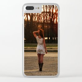Country Girl Clear iPhone Case