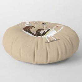 Brainstorming Coffee Floor Pillow