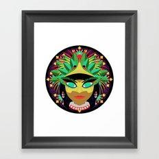 Xochiquetzal Framed Art Print