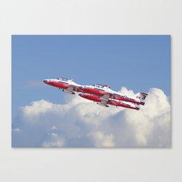 Canadian Aerobatic Team - Snowbirds Canvas Print