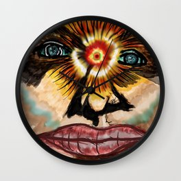 Ultimate Minds Eye Wall Clock