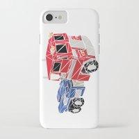 optimus prime iPhone & iPod Cases featuring The Optimus Prime by Josh Ln