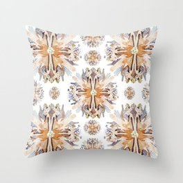 Kaleidoscope II-I Throw Pillow