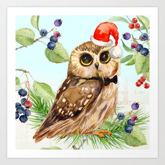 Winter animal #1 Art Print