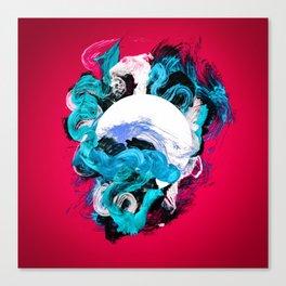 In Circle - II Canvas Print