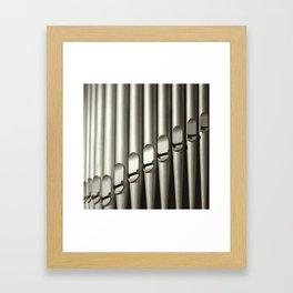 Pipes Framed Art Print