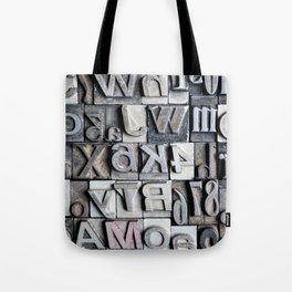 Letterpress Tote Bag