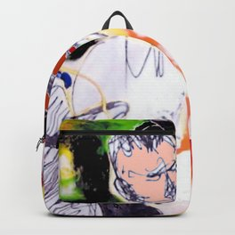 Violinist: Four Seasons          painted  by Kay Lipton Backpack