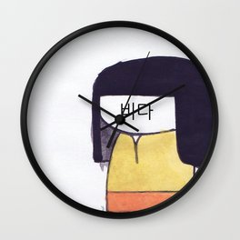 Hanbok Wall Clock