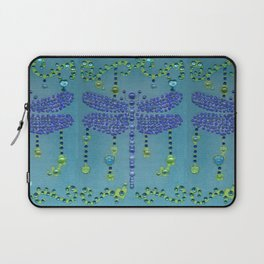 Dragonfly in Turquoise Laptop Sleeve