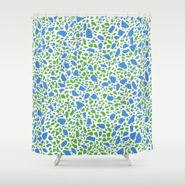 Terrazzo AFE_T2019_S13_6 Shower Curtain