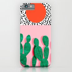 Spazz - throwback memphis 1980s style retro vintage texture illustration decor design style hipster iPhone 6 Slim Case