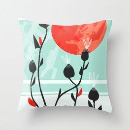 Harvest Moon 02 Throw Pillow