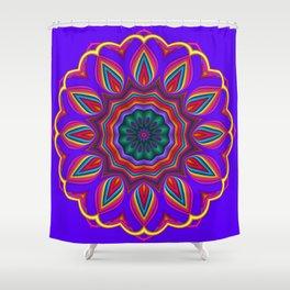 mandala design -8- Shower Curtain