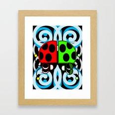 Daze Framed Art Print
