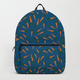 Carrots Blue Backpack