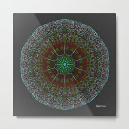 Cluster Metal Print