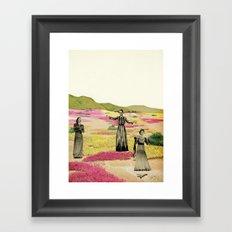 Human Cacti Framed Art Print