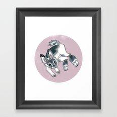 Snowshoe Hare Framed Art Print