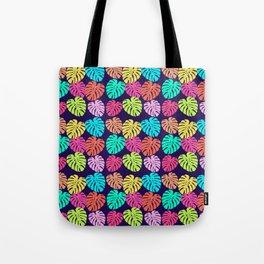 Monstera Deliciosa Print Tote Bag