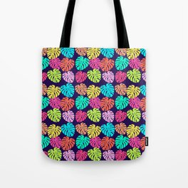 Monstera Deliciosa Print Tote Bag