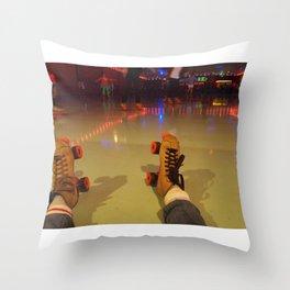 The Skates Throw Pillow