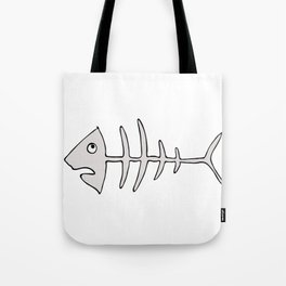 fishbones Tote Bag