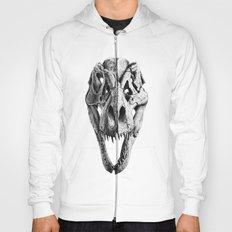 T-Rex Skull Hoody