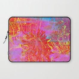Neon Splat Abstract Laptop Sleeve