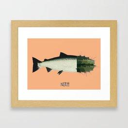 Fish Cactus 1 Framed Art Print
