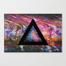 Marble Triangle Canvas Print